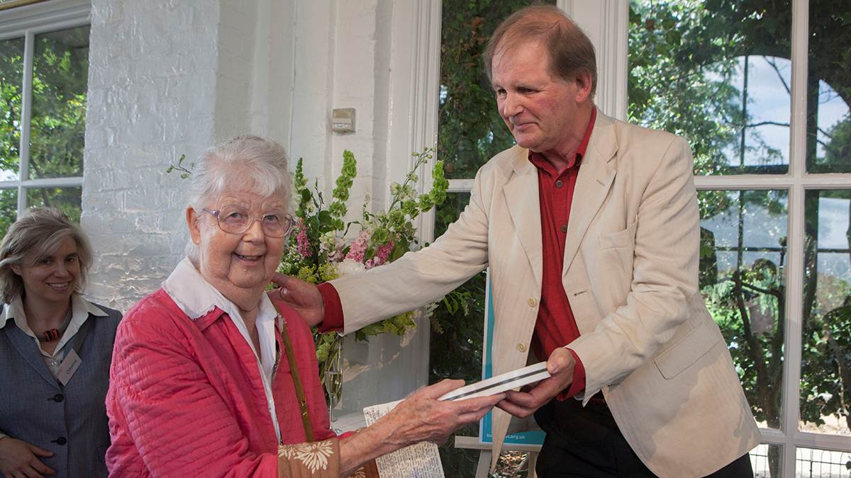Shirley Hughes and Michael Morpurgo