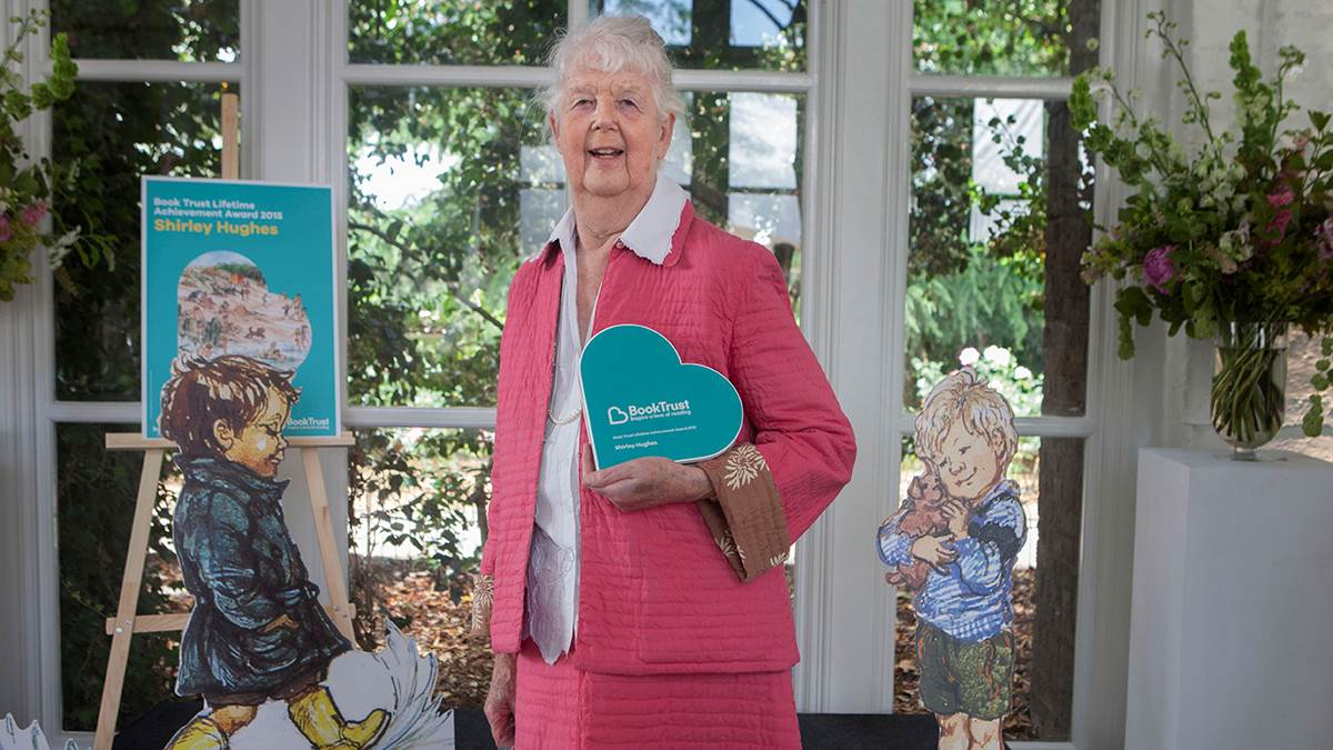 Shirley Hughes wins BookTrust's Lifetime Achievement Award