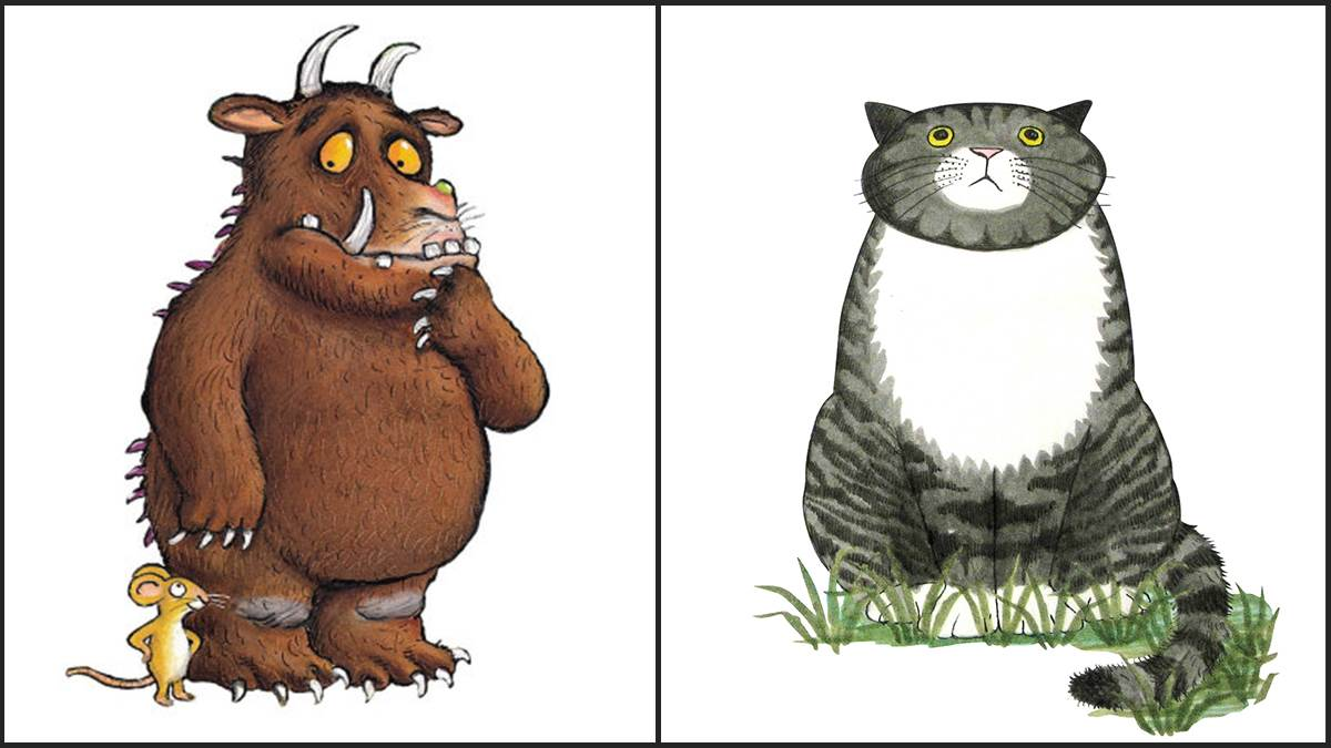 Gruffalo Mouse and Mog