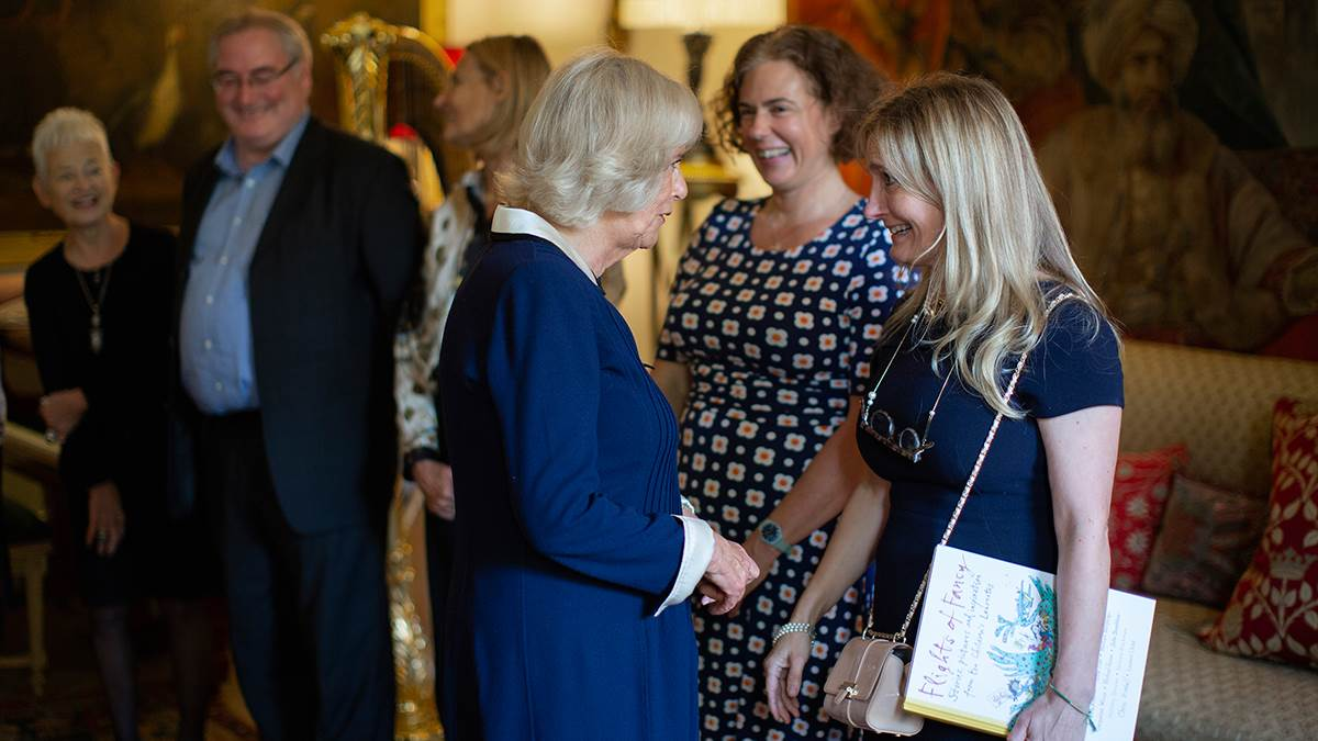 The Duchess of Cornwall celebratory tea Waterstones Children's Laureate 20th anniversary