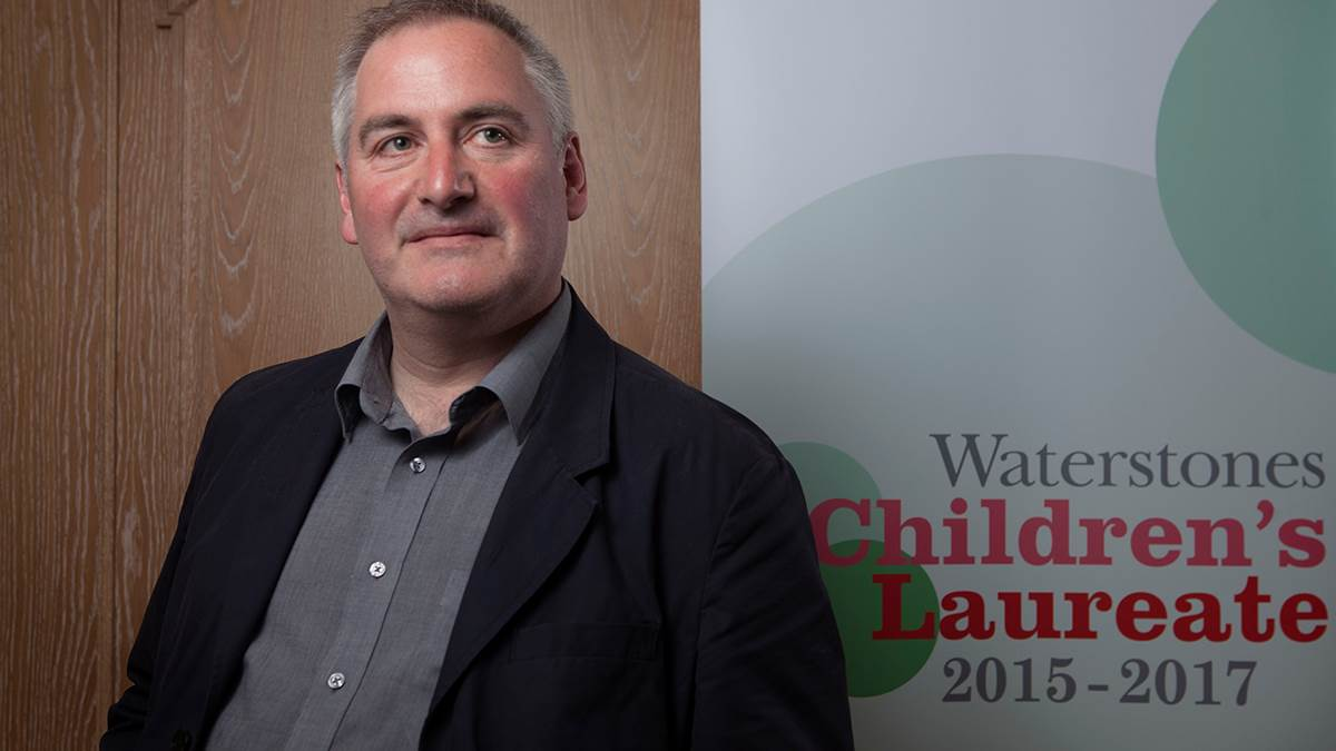 Former Children's Laureate Chris Riddell
