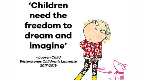 Quote by Children's Laureate Lauren Child