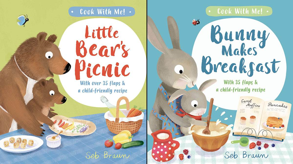 The front covers of Little Bear's Picnic and Bunny Makes Breakfast