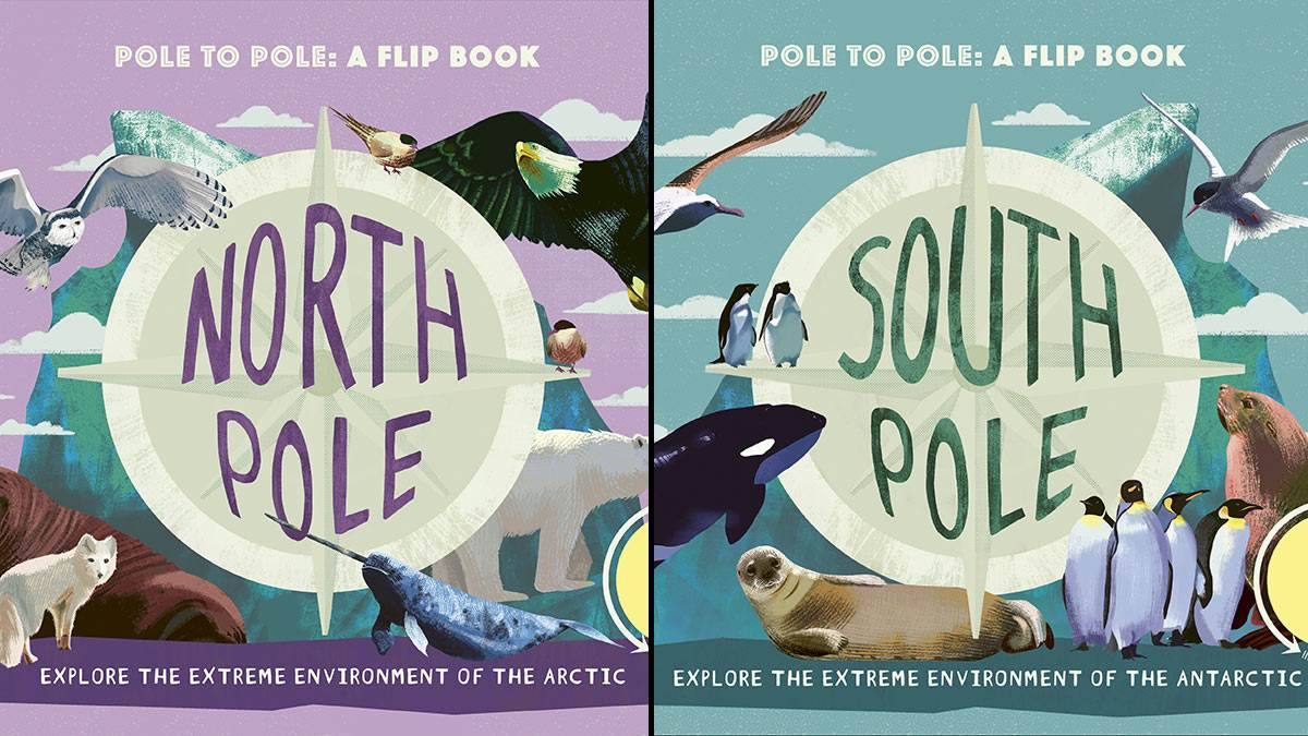 The front and back cover of North Pole/South Pole
