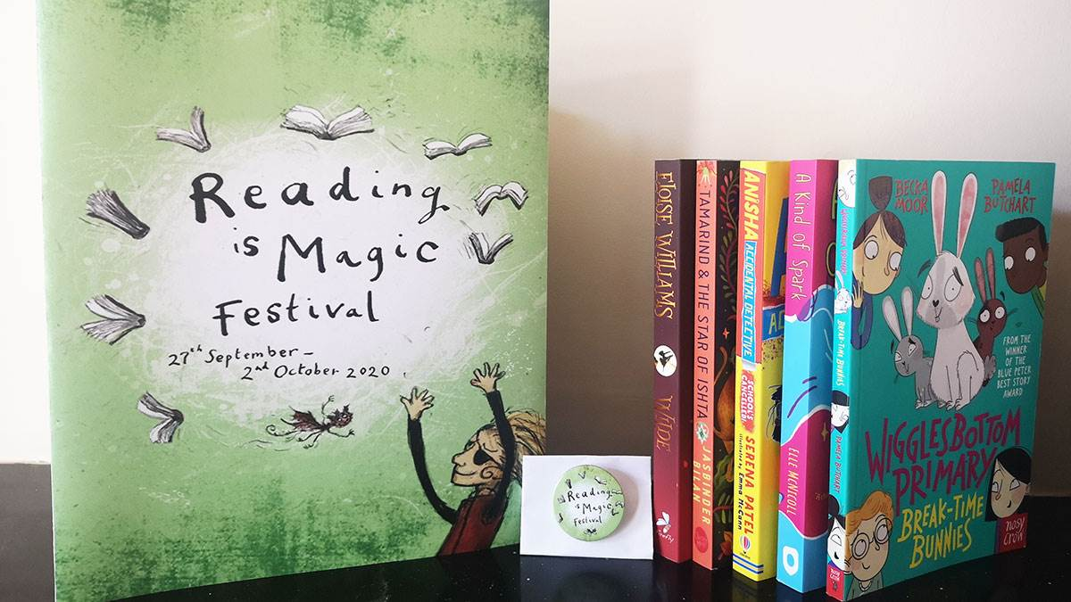 The Reading is Magic Festival prize bundle you could win