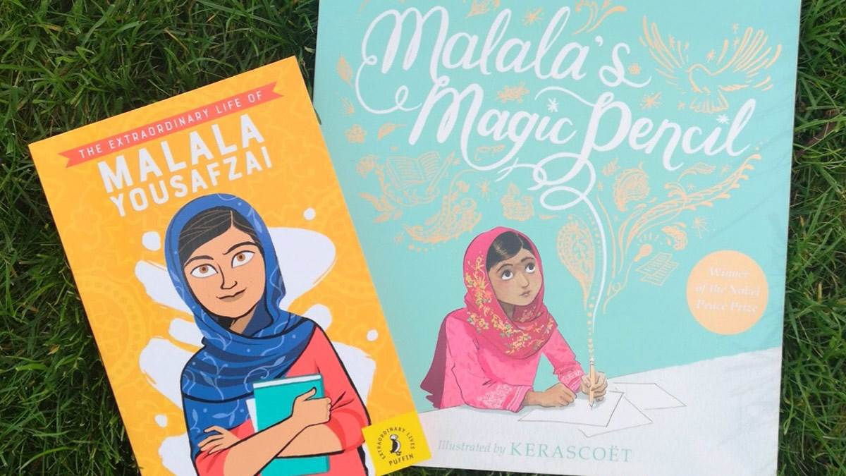 The two Malala books you could win