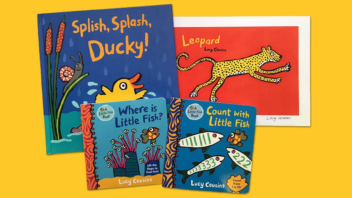 Little Fish and Ducky books