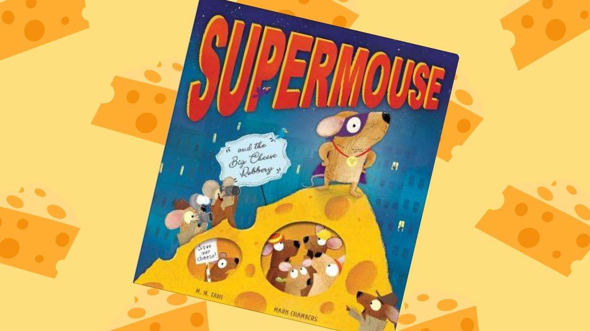 The front cover of Supermouse