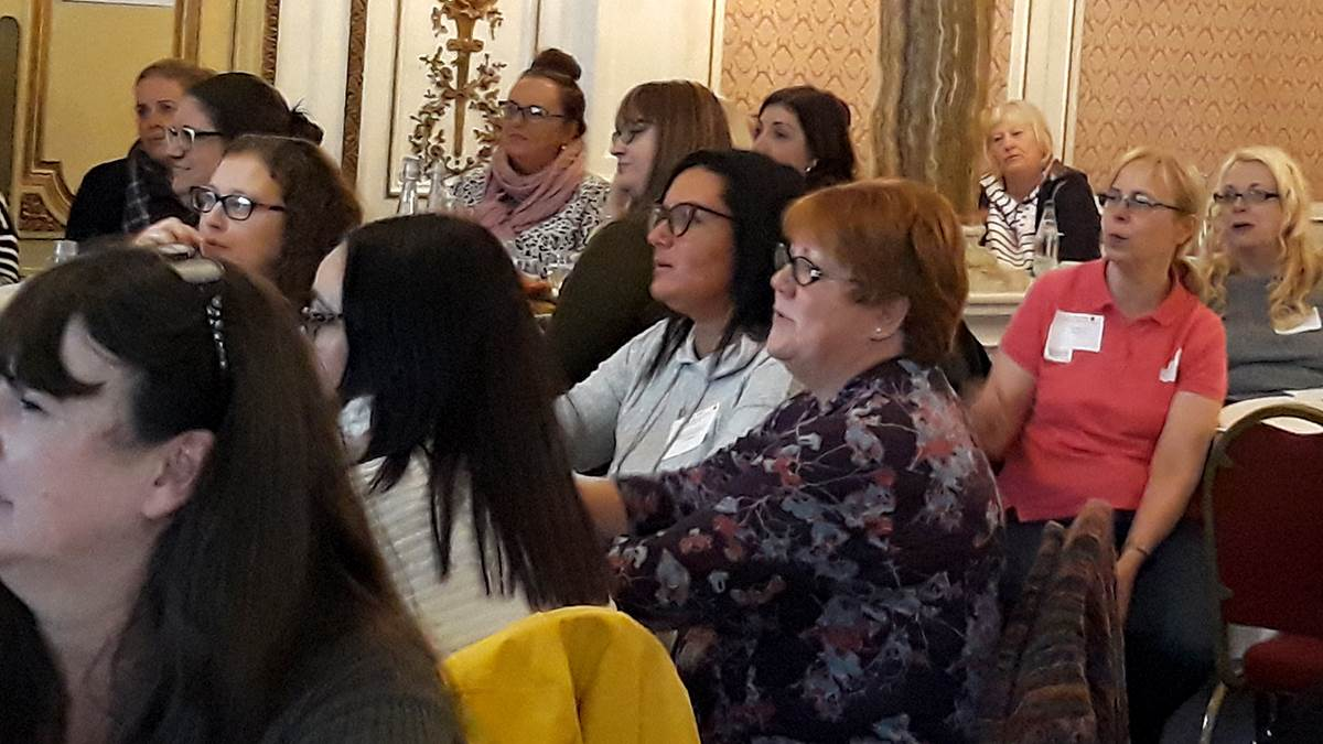 Delegates at the BookTrust Cymru Early Years practitioner conference 2019