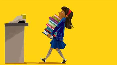 Risultati immagini per books illustration