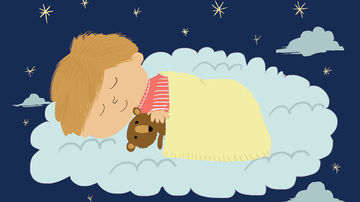 Nadia Shireen's bedtime illustration