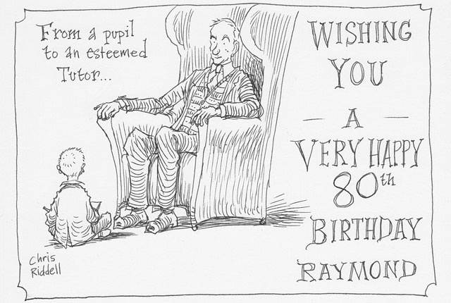 Happy 80th Raymond Briggs