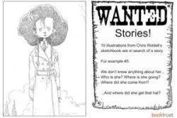 Chris Riddell's illustrations in search of a story