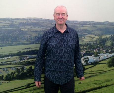 David Almond at Hay Festival 2015