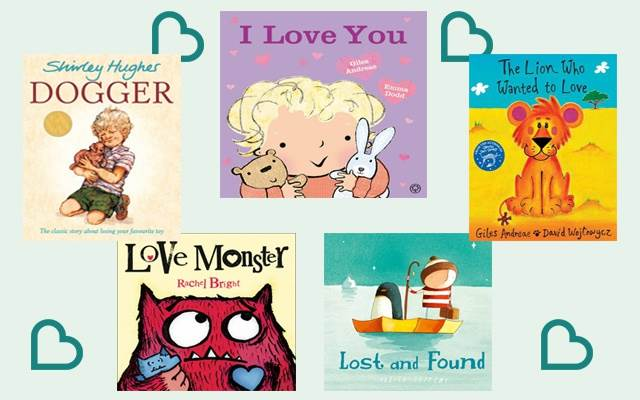 Help your child love books this Valentine's Day