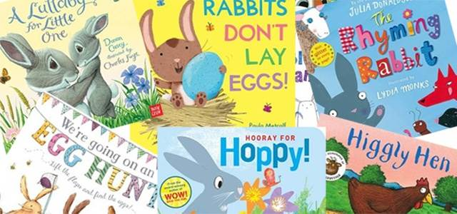 Sharing books - as well as chocolate - this Easter