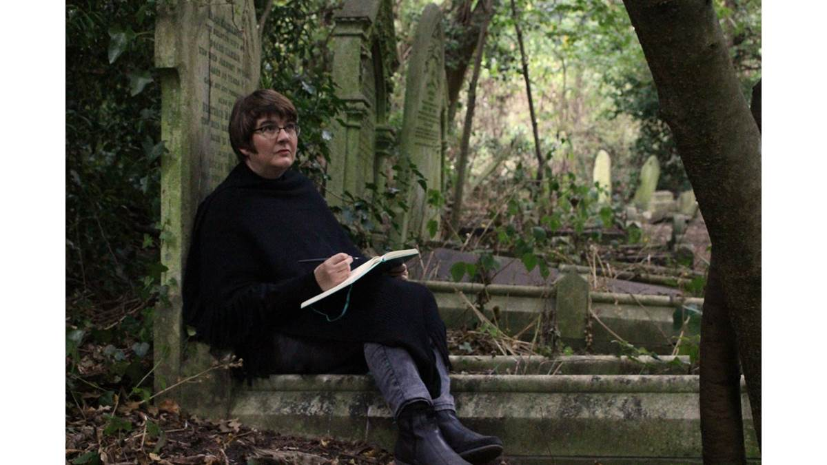 Jo Franklin in Nunhead Cemetery