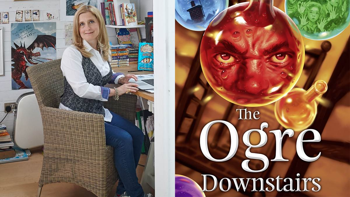 Cressida Cowell loves The Ogre Downstairs