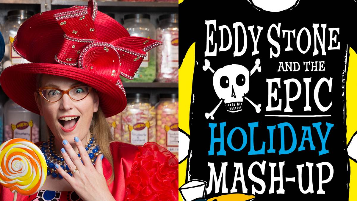 Sarah McIntyre recommends Eddy Stone and the Epic Holiday Mash-Up