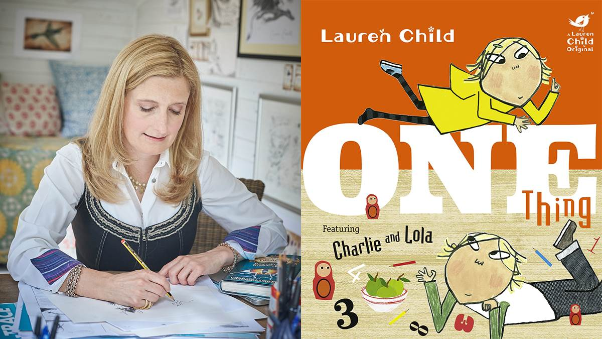 Cressida Cowell recommends Charlie and Lola: One Thing
