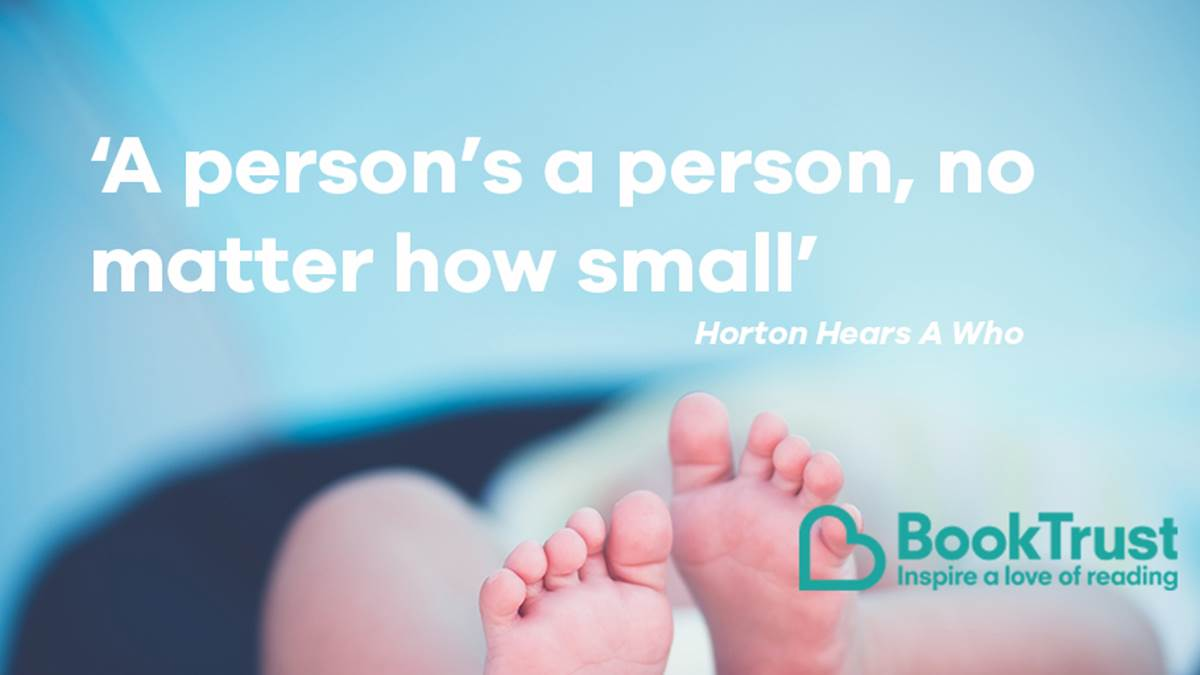 A quote from Horton Hears A Who