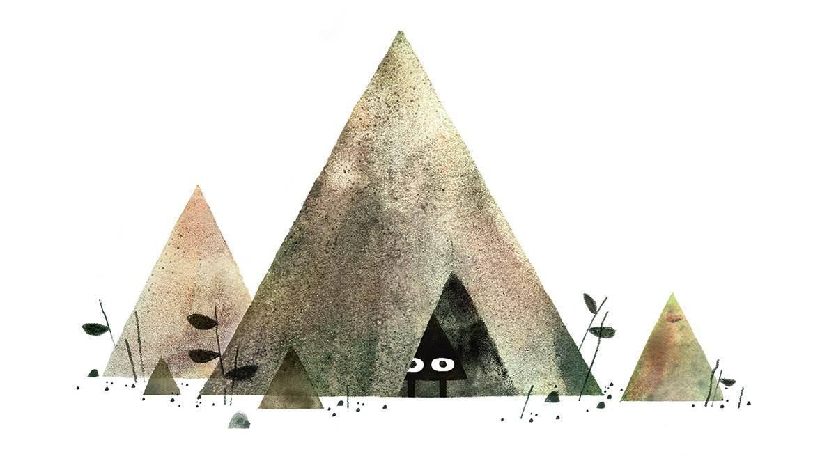 An image from Triangle by Jon Klassen and Marc Barnett