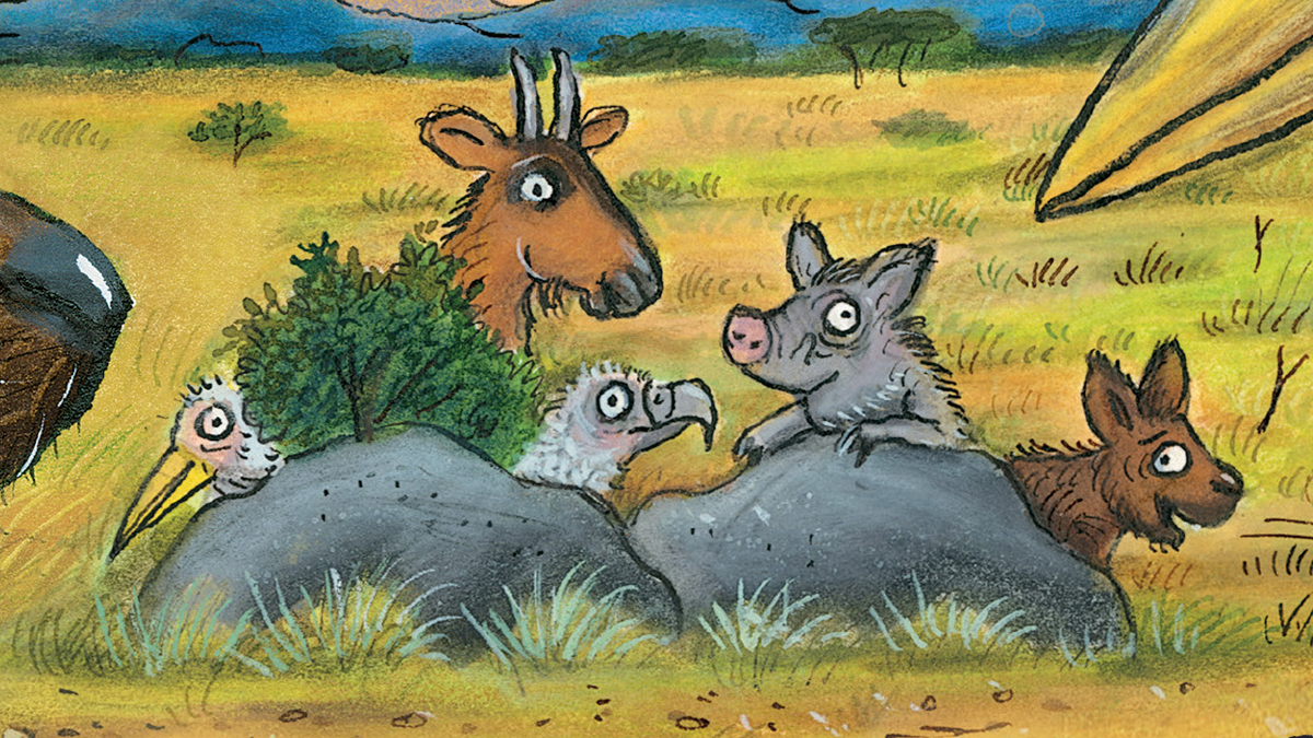 I\'m partial to warthogs!\': The Gruffalo creators\' on their new book ...
