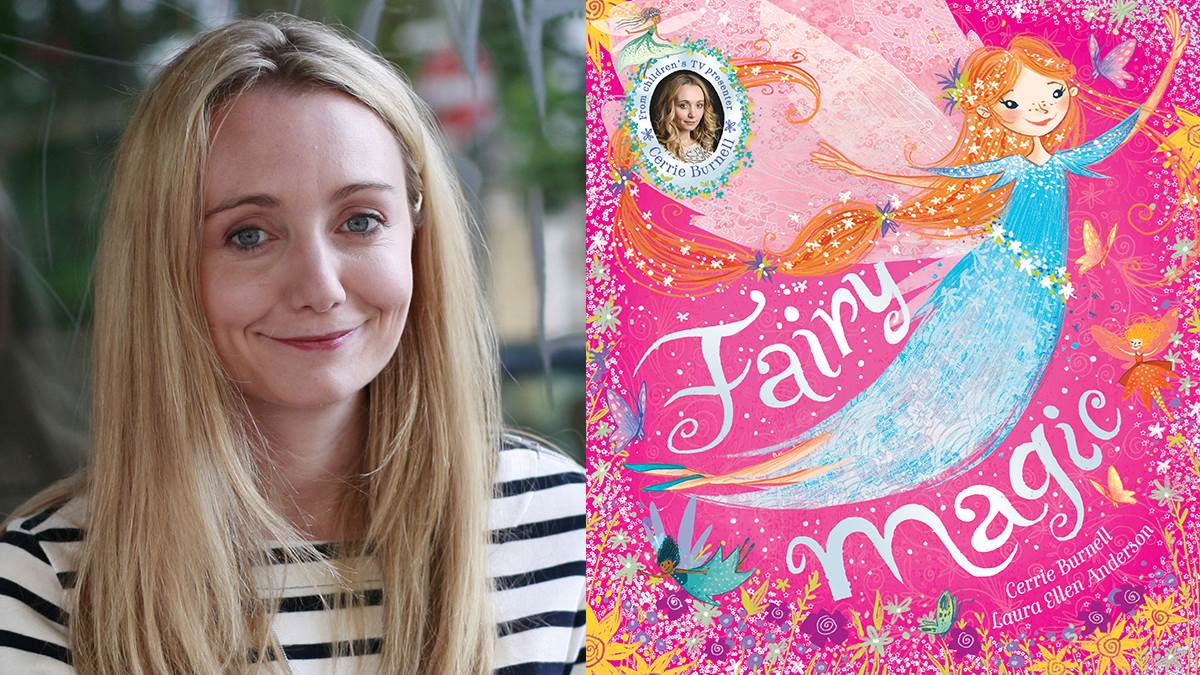 Cerrie Burnell and her book Fairy Magic