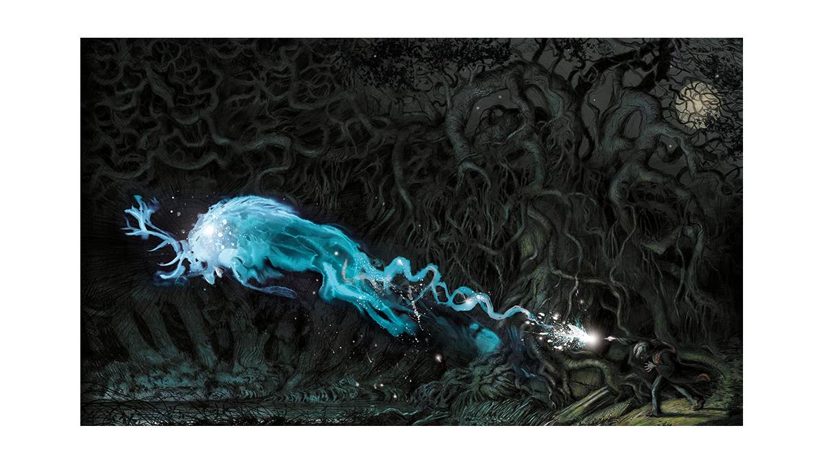 Patronus from Harry Potter and the Prisoner of Azkaban