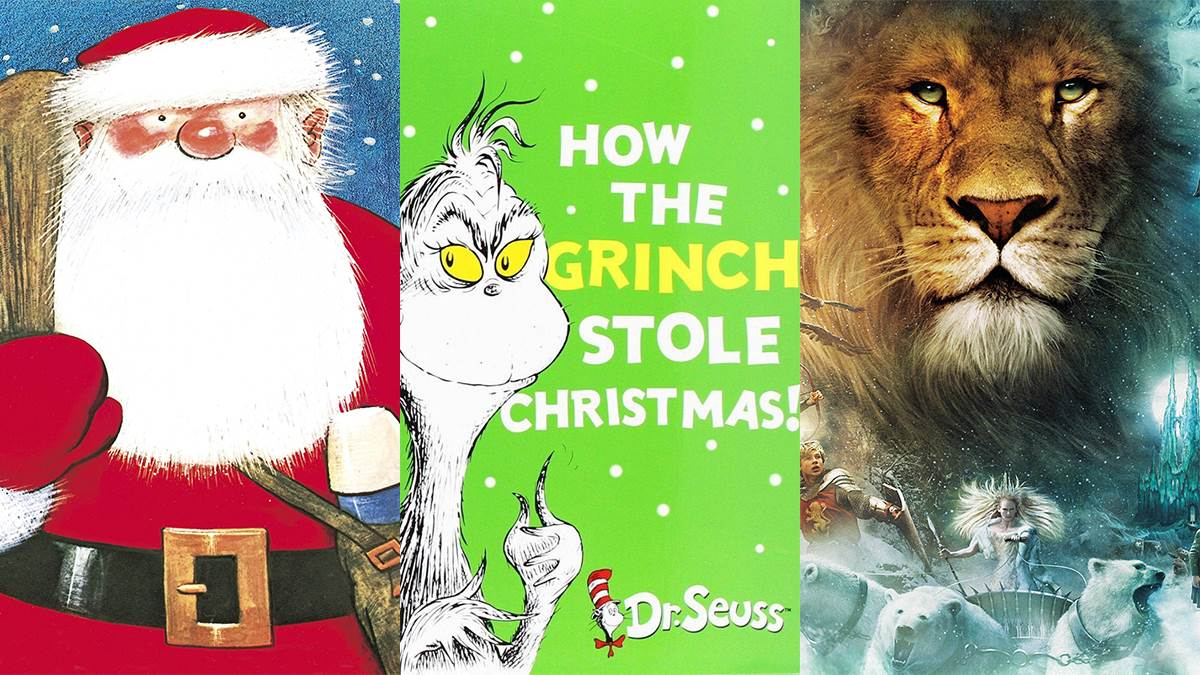 Father Christmas, How The Grinch Stole Christmas, The Lion, The Witch and the Wardrobe