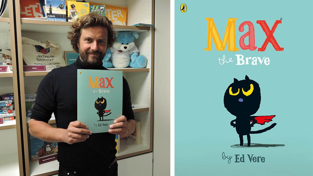 Ed Vere and Max the Brave