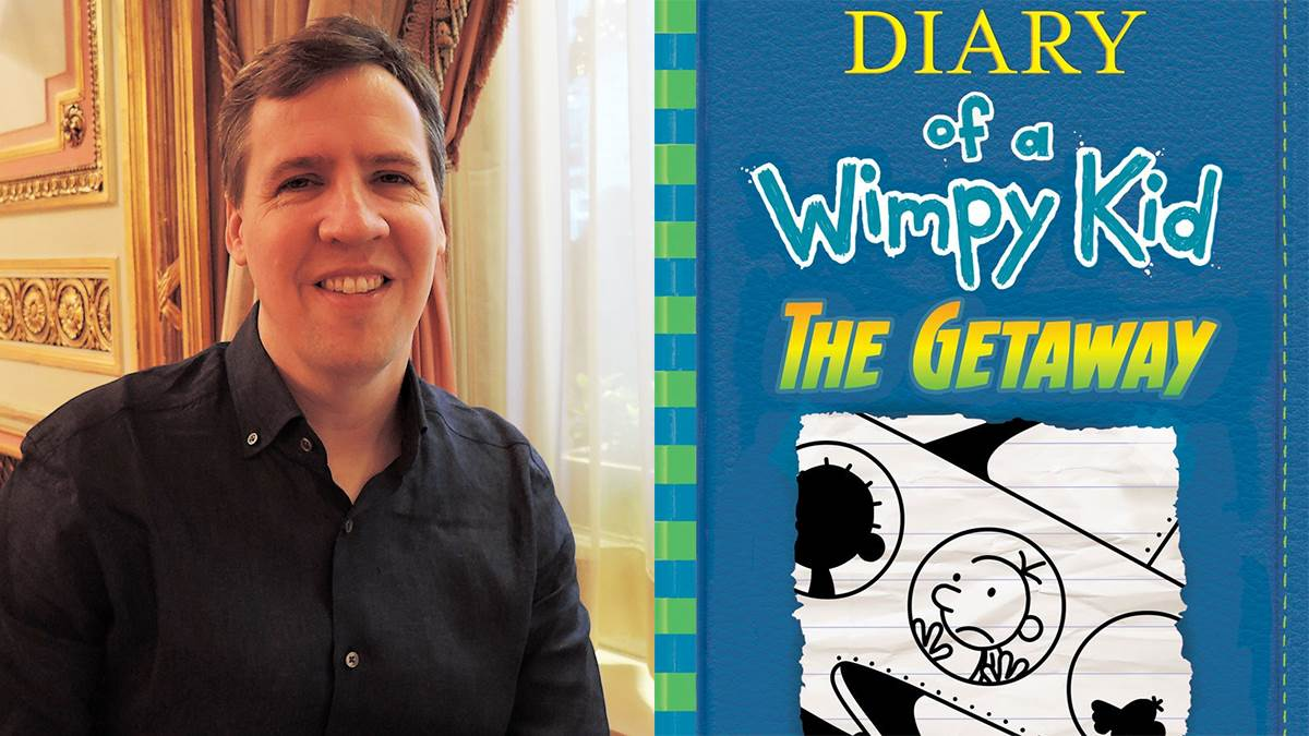 Jeff Kinney; Diary of a Wimpy Kid: The Getaway