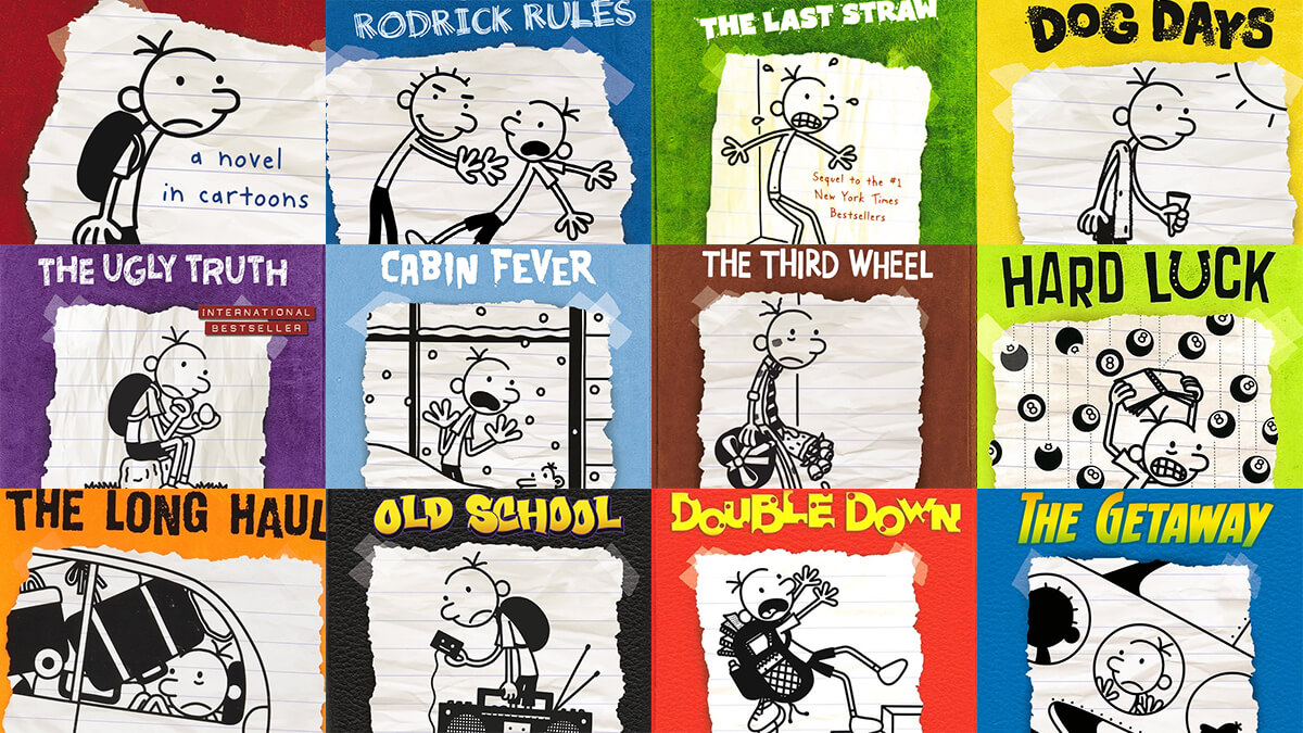 Diary Of A Wimpy Kid List Of All Books
