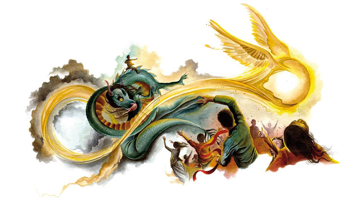 A beautiful story of chinese new year and its symbolism in pictures it is the eve of chinese new year and the ancient sky dragon prepares to awake from his year long sleep will the bad luck of the previous year be quashed buycottarizona Choice Image