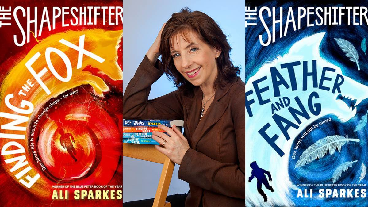 Ali Sparkes and her Shapeshifter books