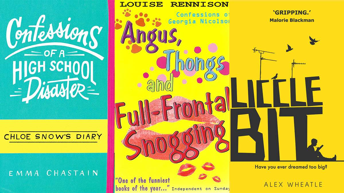Confessions of a High School Disaster; Angus, Thongs and Full Frontal Snogging; Liccle Bit