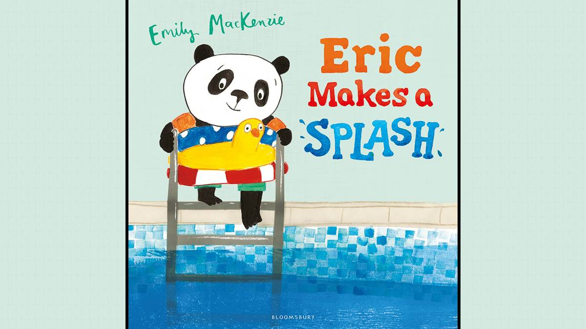 Eric Makes A Splash