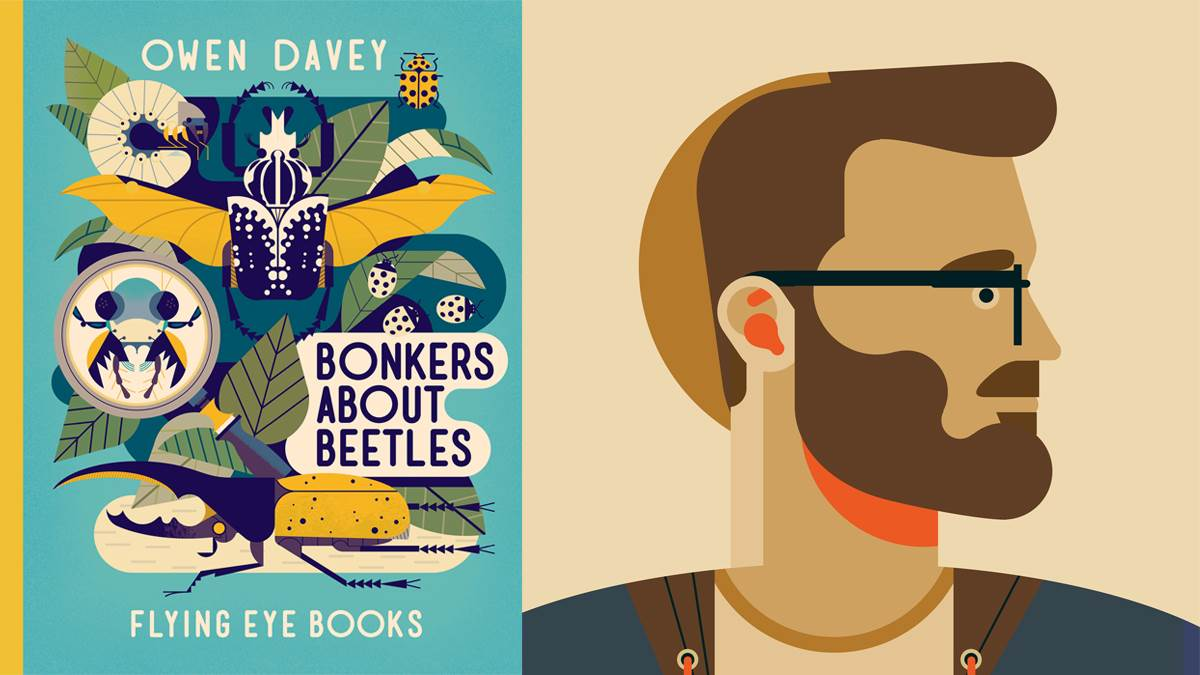 Bonkers about Beetles/Owen Davey
