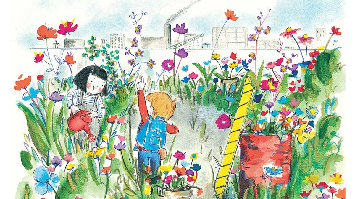 Adding Colour To The World See This Picture Book About An