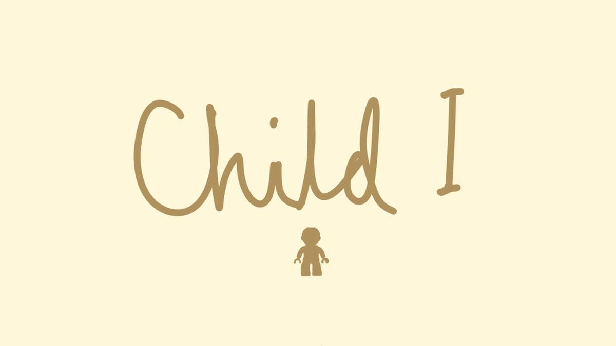 An image from the cover of Child I by Steve Tasane