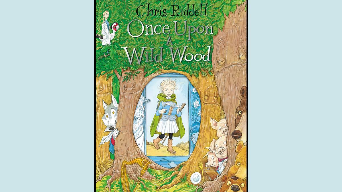 An image of the Once Upon a Wild Wood cover