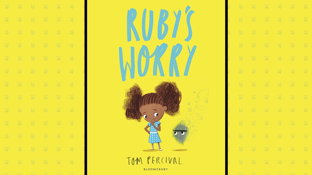 An image of the cover of Ruby's Worry by Tom Percival