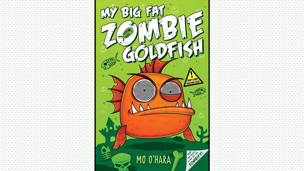An image of the cover of My Big Fat Zombie Goldfish