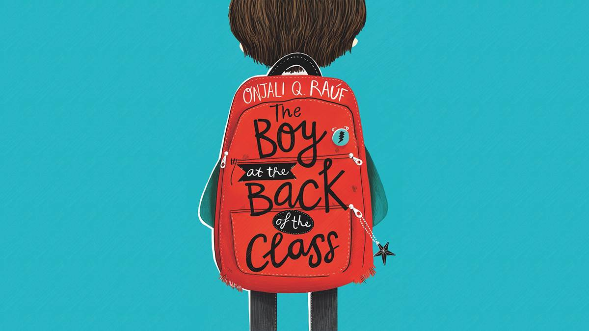 The front cover of The Boy at the Back of the Class