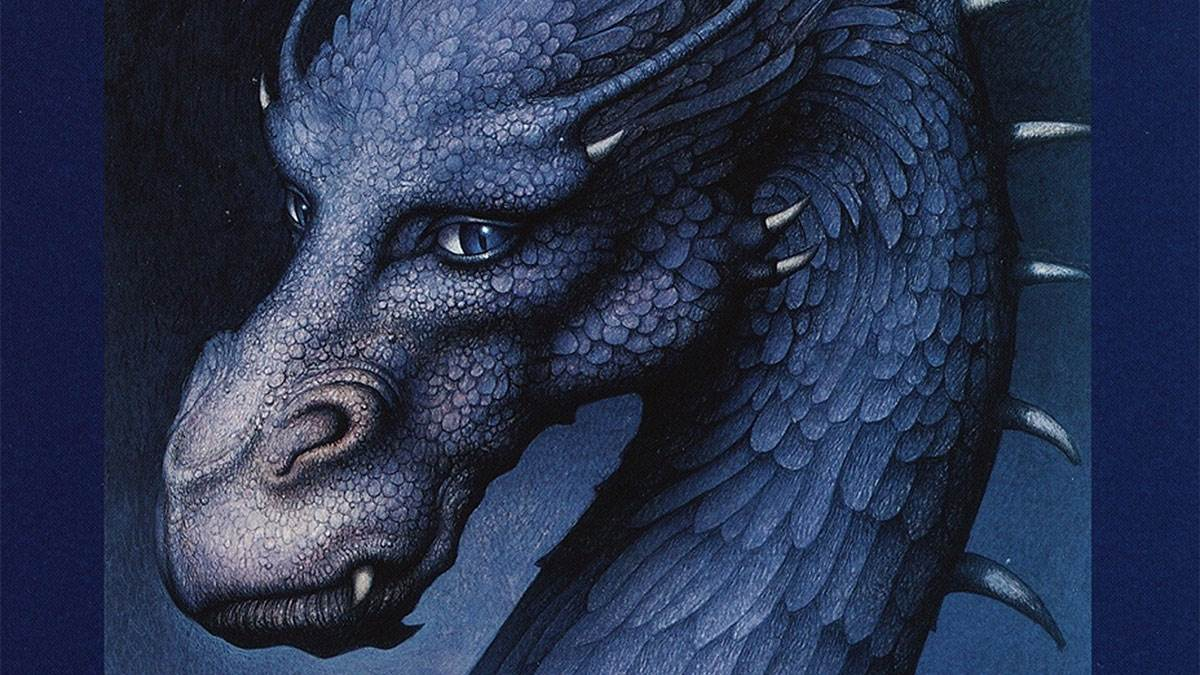An illustration from the cover of Eragon by Christopher Paolini