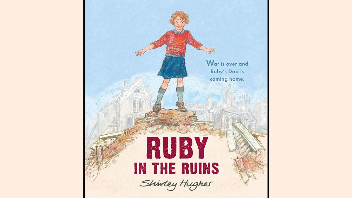 The cover of Ruby in the Ruins by Shirley Hughes
