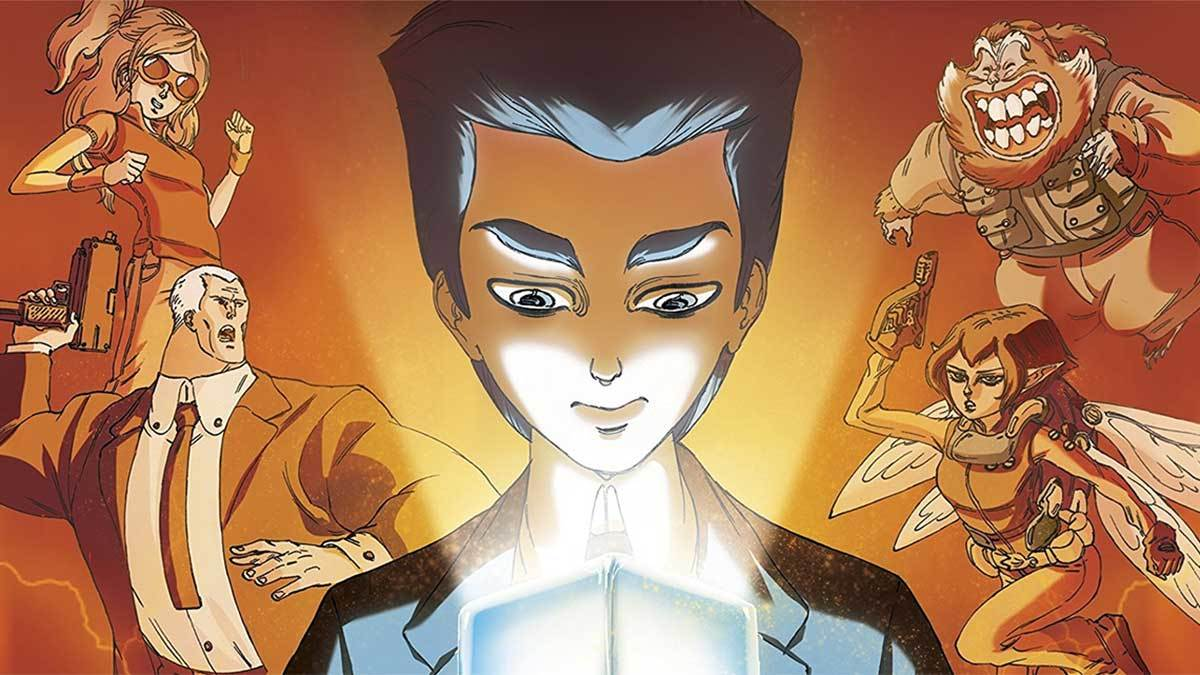 The graphic novel adaptation of Artemis Fowl