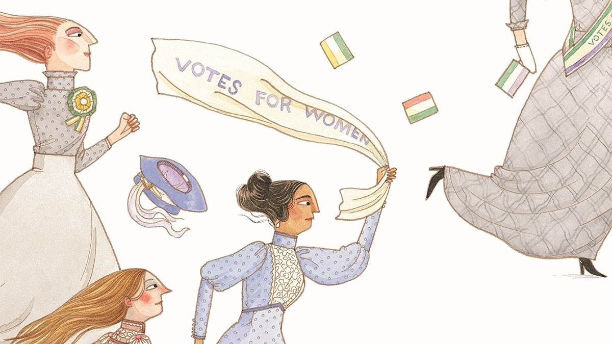 Suffragette by David Roberts