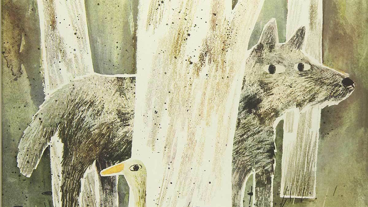 The Wolf, the Duck and the Mouse by Mac Barnett and Jon Klassen