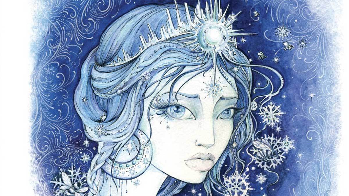 The Snow Queen by Hans Christian Andersen, illustrated by Yevgeniya Yeretskaya